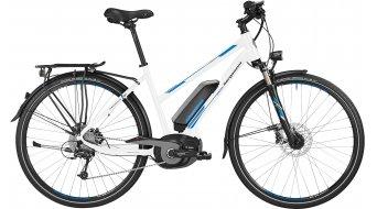 Bergamont E-Line C Deore Active 500 Lady 28 E-Bike Trekking Komplettbike Damen-Rad Gr. 52cm white/blue/grey Mod. 2016