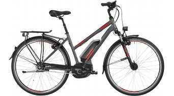 Bergamont E-Line C N8 CB 400 Lady 28 E-Bike Trekking bici completa Señoras-rueda engine grey/rojo/negro Mod. 2016