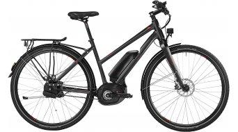 Bergamont E-Line C MGN 500 Lady 28 E-Bike Trekking bici completa Señoras-rueda negro/rojo Mod. 2016