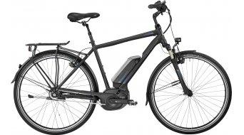 Bergamont E-Horizon N8 CB 500 Gent 28 trekking E-Bike bici completa . black/blue (opaco/shiny) mod. 2017