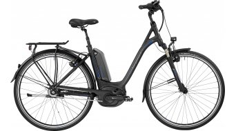 Bergamont E-Horizon N8 CB 500 Wave 28 Trekking elektromos kerékpár komplett kerékpár Unisex black/blue (matt/shiny) 2017 Modell