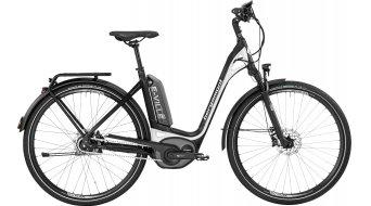Bergamont E-Ville A8 500 28 Urban elektromos kerékpár komplett kerékpár Unisex black/white (matt/shiny) 2017 Modell