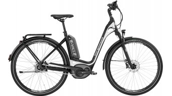 Bergamont E-Ville A8 500 28 Urban E-Bike bici completa Unisex . black/white (opaco/shiny) mod. 2017