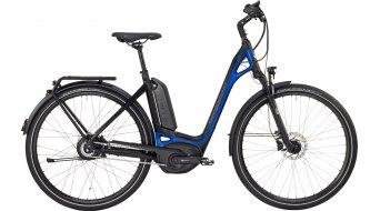 Bergamont E-Ville N330 28 Urban elektromos kerékpár komplett kerékpár Unisex black/blue (matt/shiny) 2017 Modell