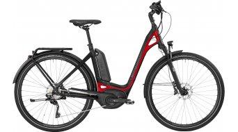 Bergamont E-Ville XT 28 Urban E-Bike bici completa Unisex . black/red (opaco shiny) mod. 2017
