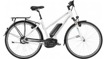 Bergamont E-Horizon N330 Lady 28 trekking E-Bike bici completa da donna . white/petrol (shiny) mod. 2017