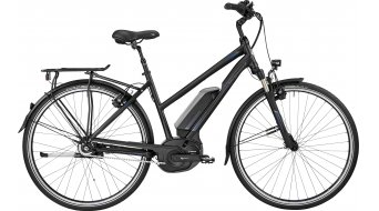 Bergamont E-Horizon N8 FH 400 Lady 28 trekking E-Bike bici completa da donna . black/blue (opaco/shiny) mod. 2017