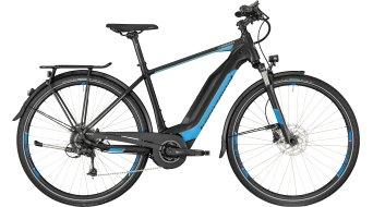 """Bergamont E-Horizon 7.0 400 Gent 28"""" E-Bike 整车 型号 black/cyan/silver (matt) 款型 2018"""