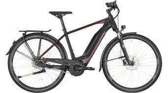 "Bergamont E-Horizon N8 CB 400 Gent 28"" E-Bike 整车 型号 black/dark silver/red (matt) 款型 2018"