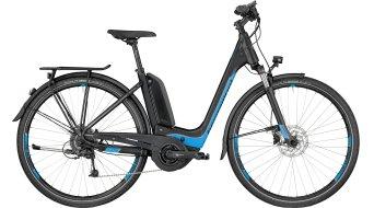Bergamont E-Horizon 7.0 Wave E-Bike 整车 型号 black/cyan/silver (matt) 款型 2018