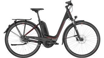 """Bergamont E-Horizon N8 CB 400 Wave 28"""" E-Bike 整车 型号 black/dark silver/red (matt) 款型 2018"""
