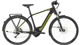 """Bergamont E-Helix Expert Gent 28"""" E-Bike 整车 型号 black/dark silver/青柠色 (matt) 款型 2018"""