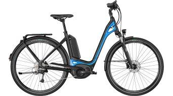 """Bergamont E-Ville Deore 28"""" E-Bike 整车 型号 black/blue (matt/shiny) 款型 2018"""