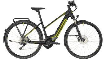 "Bergamont E-Helix Expert Lady 28"" E-Bike 整车 女士-Rad 型号 black/dark silver/青柠色 (matt) 款型 2018"