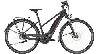 "Bergamont E-Horizon N8 CB 400 Lady 28"" E-Bike 整车 女士-Rad 型号 black/dark silver/red (matt) 款型 2018"