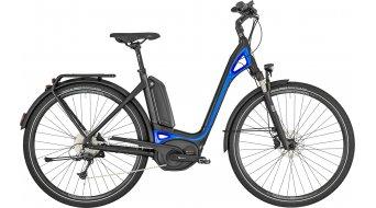 """Bergamont E-Ville Deore 28"""" E-Bike 整车 型号 black/blue (matt/shiny) 款型 2019"""