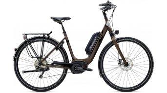 """Diamant Zagora+ 28"""" elektromos kerékpár komplett kerékpár női-Rad Tief Méret 45cm umbra fémes 2016 Modell"""