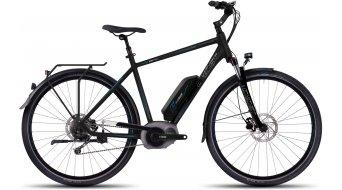 Ghost Andasol Trekking 4 elektromos kerékpár komplett kerékpár Méret M black/blue/gray 2016 Modell