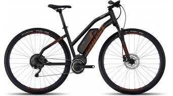 Ghost Square Cross 4 AL 29 E-Bike bici completa Señoras-rueda negro/monarch naranja/urban gray Mod. 2017