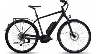 Ghost Andasol Trekking 2 AL E-Bike 整车 型号 black/micro chip gray/titanium gray 款型 2017