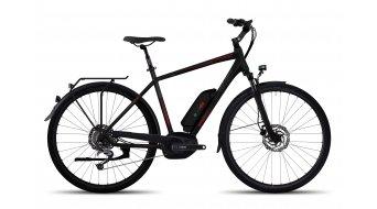 Ghost Andasol Trekking 5 AL E-Bike 整车 型号 M black/jade blue/neon red 款型 2017