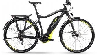 Haibike SDURO trekking SL 28 E-Bike mis. 56cm nero/lime/grigio opaco Yamaha- trasmissione mod. 2016