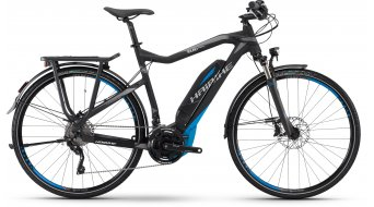 Haibike SDURO Trekking RC 28 E-Bike Damenrad tamaño 44cm negro(-a)/cyan/grises/as color apagado Yamaha-tracción Mod. 2016