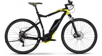Haibike XDURO Cross RX 28 E-Bike Damenrad Gr. 48cm schwarz/lime matt Bosch Performance CX-Antrieb Mod. 2016