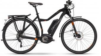 Haibike XDURO Trekking S Pro 28 E-Bike S-Pedelec Damenrad anthrazit/rot matt Bosch Performance 45km/h-Antrieb Mod. 2016