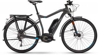 Haibike XDURO Trekking S RX 28 elektromos kerékpár S-Pedelec nőirad antracit/cyan matt Bosch Performance 45km/h-meghajtás 2016 Modell