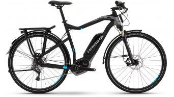 Haibike XDURO Trekking RC 28 E-Bike anthrazit/cyan matt Bosch Performance CX-Antrieb Mod. 2016