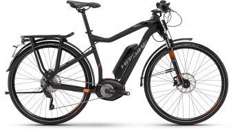 Haibike XDURO Trekking S Pro 28 E-Bike S-Pedelec anthrazit/rot matt Bosch Performance 45km/h-Antrieb Mod. 2016
