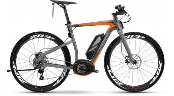 Haibike XDURO Urban S Pro 28 E-Bike S-Pedelec anthrazit/rot matt Bosch Performance 45km/h-Antrieb Mod. 2016