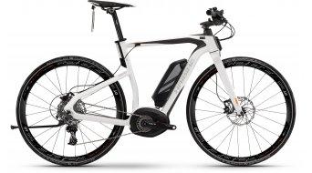 Haibike XDURO Urban S RX 28 E-Bike S-Pedelec Gr. 53cm perlweiß/anthrazit matt Bosch Performance 45km/h-Antrieb Mod. 2016