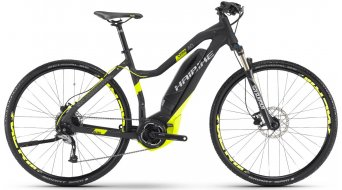 Hai bike SDURO Cross 4.0 28 E- bike ladies bike black/lime matt Yamaha PW-Antrieb 2017