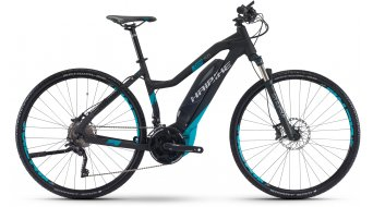 Hai bike SDURO Cross 5.0 28 E- bike ladies bike black/cyan matt Yamaha PW-Antrieb 2017