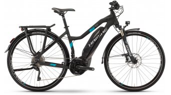 Hai bike SDURO trekking 5.0 28 E- bike ladies bike black/titanium/cyan matt Yamaha PW-Antrieb 2017