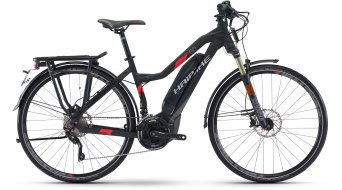 "Haibike SDURO trekking S 6.0 28"" S-Pedelec femmes vélo taille noir/titane/rouge matt Yamaha PW-Antrieb Mod. 2017"