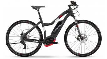 Haibike XDURO Cross 3.0 28 E-Bike Damen Komplettrad titan/weiß/rot matt Bosch Performance CX-Antrieb Mod. 2017