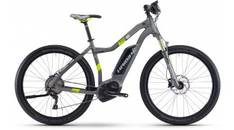Haibike XDURO Cross 4.0 28 E-Bike Damen Komplettrad titan/lime matt Bosch Performance CX-Antrieb Mod. 2017