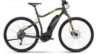 """Haibike SDURO Cross 4.0 400Wh 28"""" MTB(山地) E-Bike 整车 型号 深灰色/黑色/青柠色 款型 2018"""