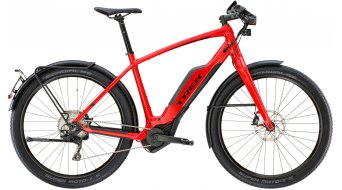 "Trek Super Commuter+ 8S 650B/27.5"" E-Bike 整车 型号 viper red 款型 2018"