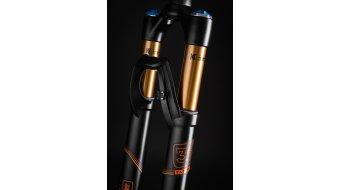 FOX 36 831 HSC/LSC FIT Factory 26 forcella 100mm 1 1/8 15/20mm 37mm-Rake black/arancione Logo mod. 2016