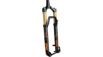 FOX 34 Talas FIT4 Factory 27.5 horquilla de suspensión 150-120mm 1.5 Tapered 15QR 44mm-Rake matte negro/naranja logo Mod. 2016