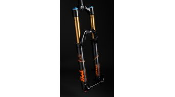 FOX 36 Float HSC/LSC FIT Factory 27.5 horquilla de suspensión 170mm 1.5 Tapered 15/20mm 44mm-Rake negro/naranja logo Mod. 2016