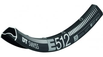 DT Swiss E 512 29 Disc MTB llanta Loch negro(-a)