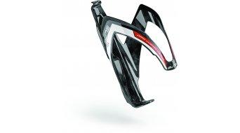 Elite Pase Custom Carbon Flaschenhalter schwarz/weiß