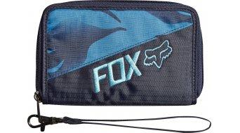 Fox Vicious Geldbörse Señoras-Geldbörse Wristlet tamaño azul steel