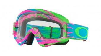 Oakley XS O Frame MX Goggle high voltage 粉色 blue/clear