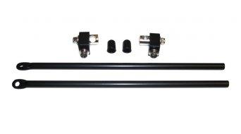 Tubus Racktime Standard- montaggio set superiore 240mm nero